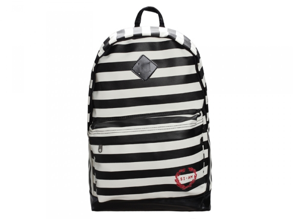 Купить Рюкзак PLEARN - Stripes Black - OBIDOBI.RU